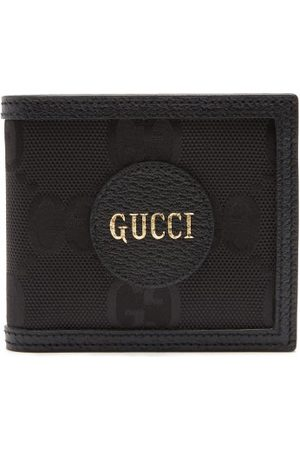 Gucci Logo-patch Large Gg-canvas Bifold Wallet - Mens