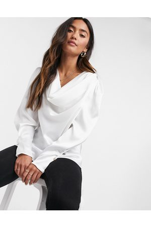 River Island Women Blouses - Cowl neck blouse in