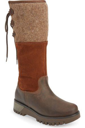 Bos. & Co. Women's Goose Primaloft Waterproof Boiled Wool Mid Calf Boot