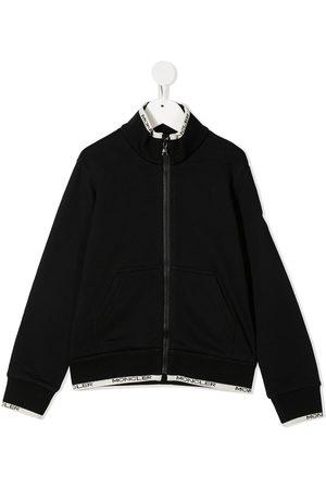 Moncler Edge-logo bomber jacket