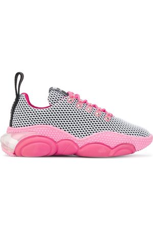 Moschino Women Sneakers - Teddy low-top sneakers