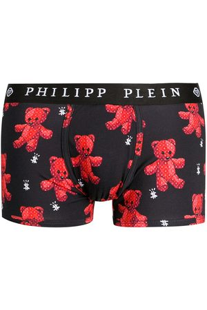 Philipp Plein Teddy bear-print briefs