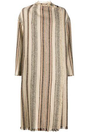 Isabel Marant Julicia striped coat - Neutrals