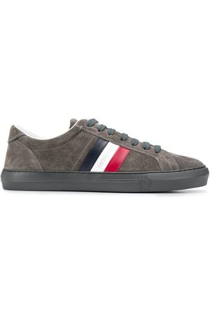 Moncler Side stripe low-top trainers - Neutrals