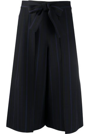See by Chloé Belted cropped trousers