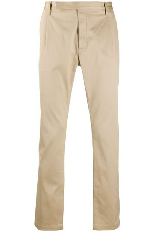 Saint Laurent Casual straight-leg trousers - Neutrals