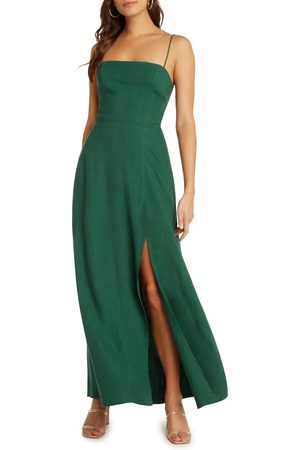 Willow Women's Santorini Low Back Maxi Dress