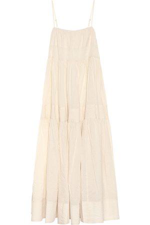Lee Mathews Cotton maxi dress