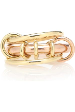 SPINELLI KILCOLLIN Gemini 18kt yellow and rose ring