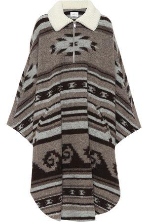 Isabel Marant, Étoile Gabo wool-blend zipped poncho
