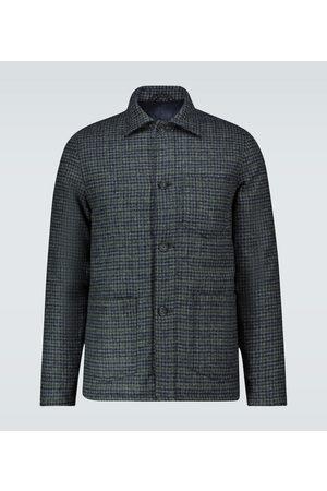 OFFICINE GENERALE Houndstooth padded chore jacket