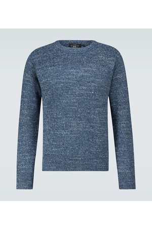 RRL Knitted cotton sweater