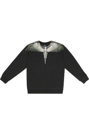 Marcelo Burlon Kids of Milan Printed cotton-blend sweatshirt