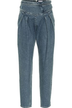 RED Valentino Women High Waisted - High-rise carrot jeans
