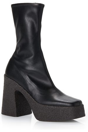 Stella McCartney Women's Block Heel Platform Booties