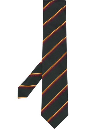 Etro Diagonal stripe silk tie