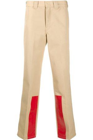 Helmut Lang High rise straight leg trousers - Neutrals