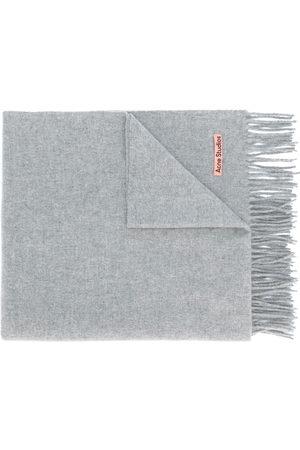 Acne Studios Scarves - Canada New fringed scarf - Grey