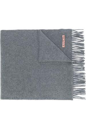 Acne Studios Scarves - Canada Nr New fringed scarf - Grey