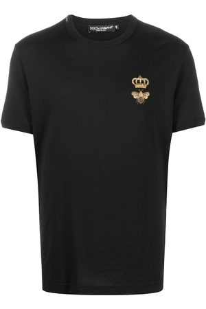 Dolce & Gabbana Crown embroidered T-shirt