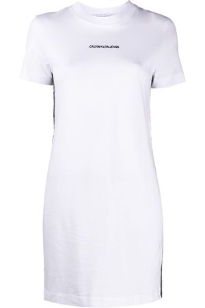 Calvin Klein Logo-print mini T-shirt dress