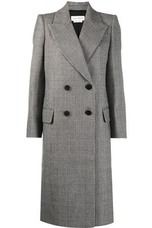 Alexander McQueen Prince of Wales check coat