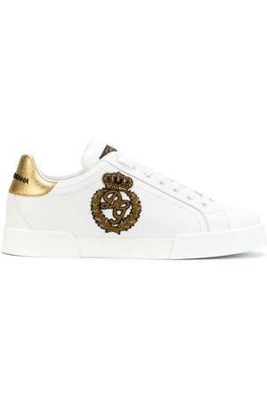 Dolce & Gabbana London leather sneakers