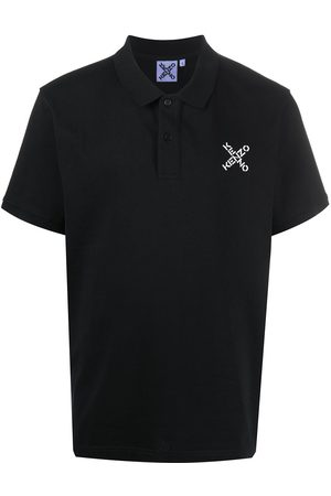 Kenzo Logo-embroidered polo shirt