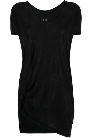 Rick Owens Short sleeve draped T-shirt