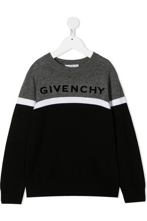 Givenchy Colour-block jumper