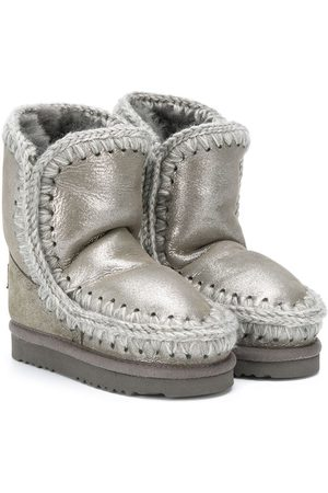 Mou Girls Snow Boots - Shearling snow boots