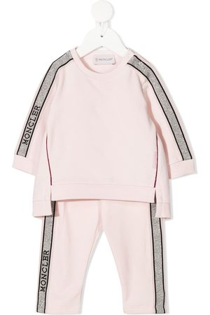 Moncler Sets - Embellished logo tracksuit set