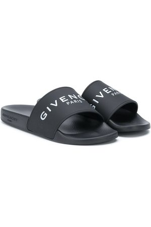Givenchy Logo embossed slides