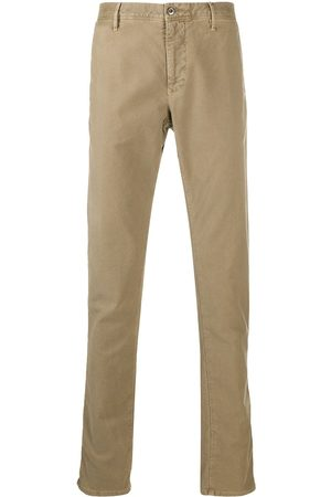 Incotex Straight-leg slim-fit chinos - Neutrals