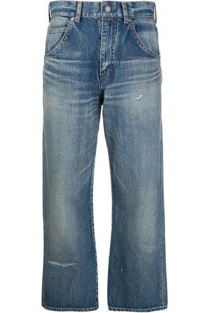 Saint Laurent Cropped straight-leg jeans