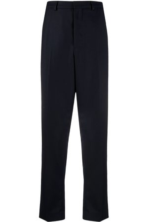 Ami Men Formal Pants - Carrot fit tailored trousers