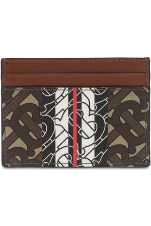 Burberry Tb Monogram Canvas Card Holder