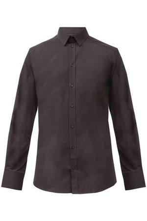 Dolce & Gabbana Slim-fit Cotton-blend Poplin Shirt - Mens