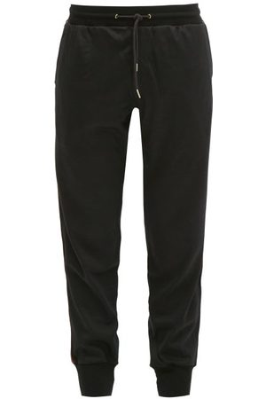 Paul Smith Side-stripe Wool-jersey Trackpants - Mens