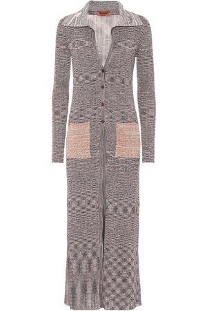 Missoni Ribbed knit longline cardigan