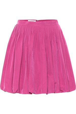 VALENTINO Taffeta miniskirt