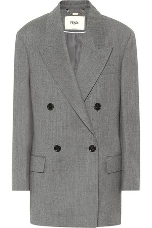 Fendi Wool flannel blazer