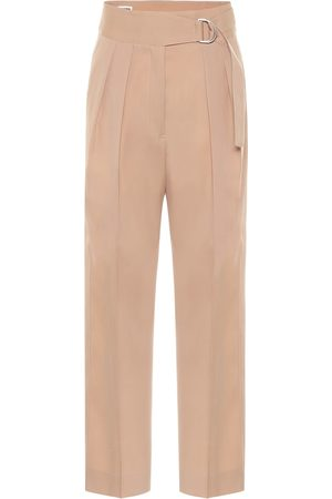 Jil Sander High-rise wool gabardine pants