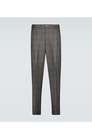 BARENA Tartana Trescon checked wool pants