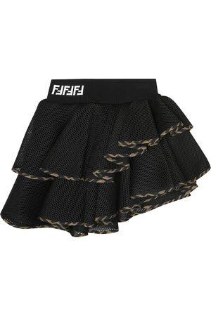 Fendi FF mesh skirt