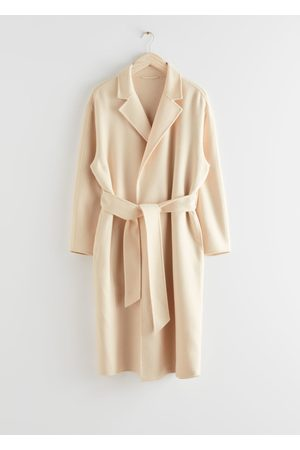 & OTHER STORIES Belted Wool Blend Coat