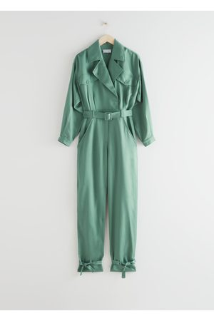 & OTHER STORIES Belted Oversized Jumpsuit