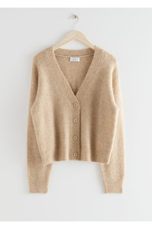 & OTHER STORIES Relaxed Wool Knit Cardigan