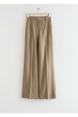 & OTHER STORIES Wide Flared Trousers