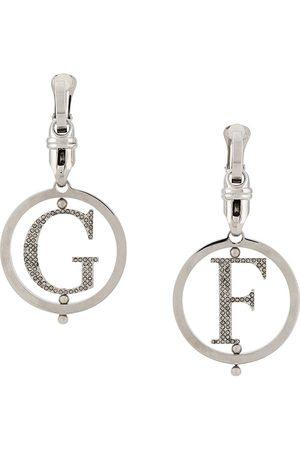 Gianfranco Ferré Pre-Owned Women Earrings - 2000s monogram drop earrings